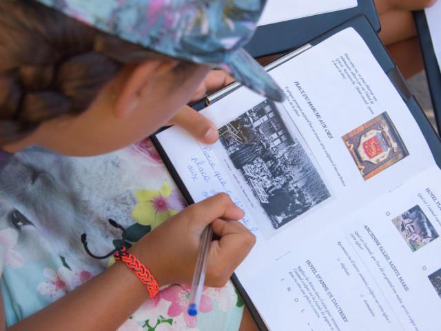 L'été des 8/11 ans à Sarlat : visite spéciale pour les enfants