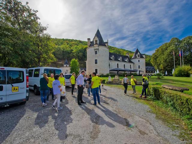 Excursion en groupe en Périgord