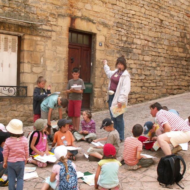 Visite de sarlat pour groupes scolaires