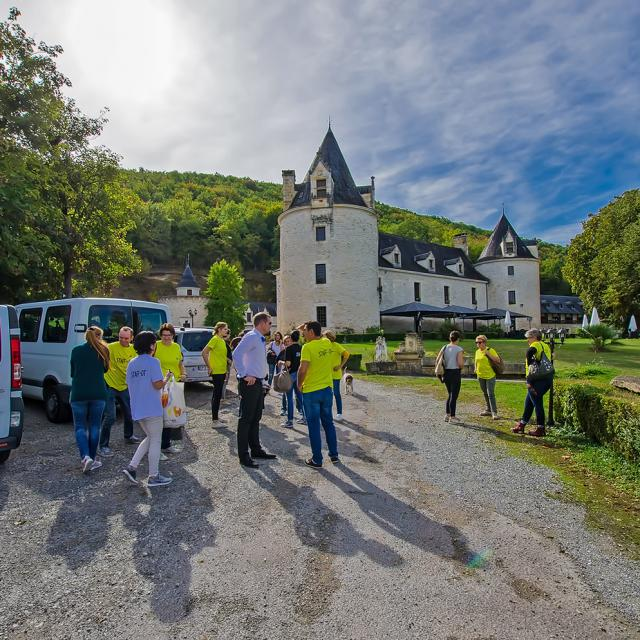 Excursion en groupe en Périgord