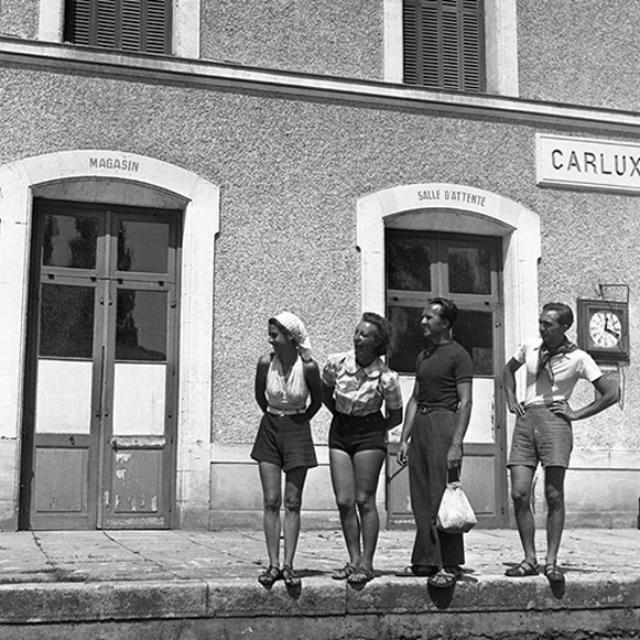 Gare Carlux 1939