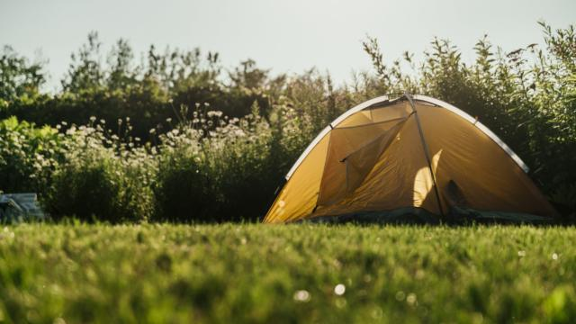 Tent At Fields Edge 4460x4460