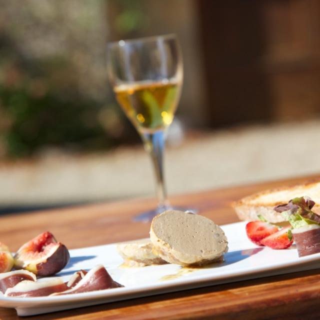 Foie gras en Périgord