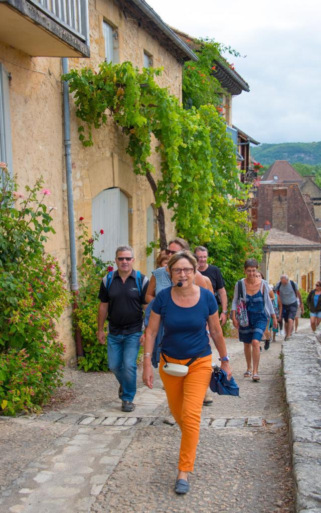 Visite de Beynac - Plus beaux villages de France