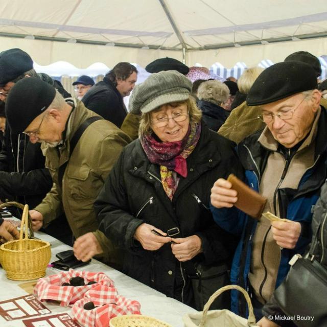 Séjour Fête de la Truffe_marché primé