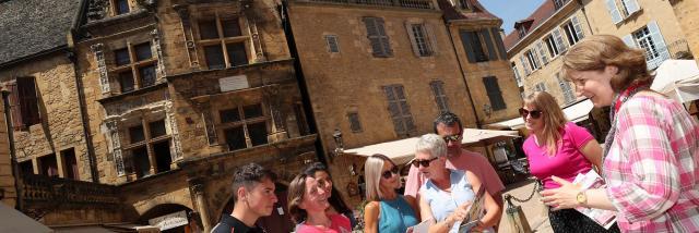 Rallye découverte de Sarlat, visite ludique