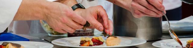 Démonstrations de cuisine - Fête de la truffe à Sarlat