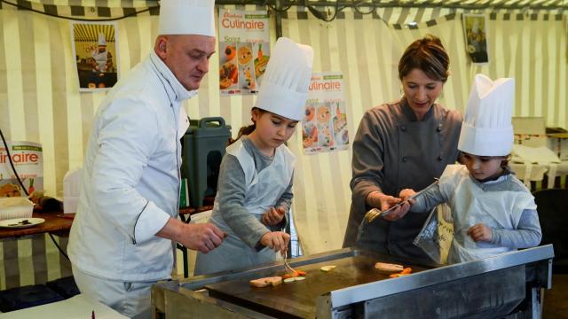 Ateliers pour les enfants - Fête de la truffe à Sarlat