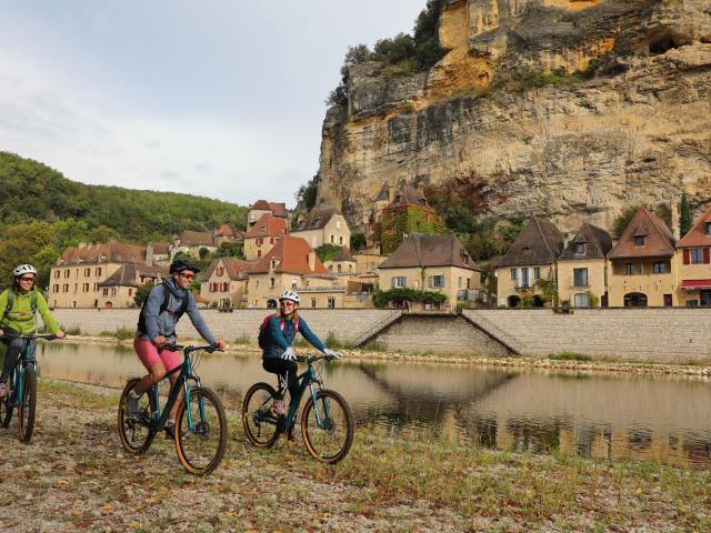 Balade à vélo en Périgord Noir