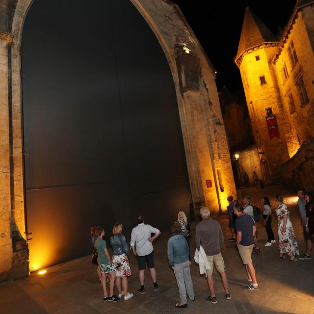 Night tour of Sarlat