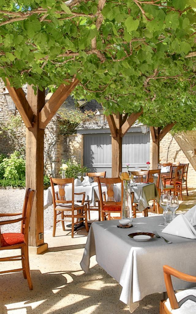 La Meynardie Restaurant Terrasse