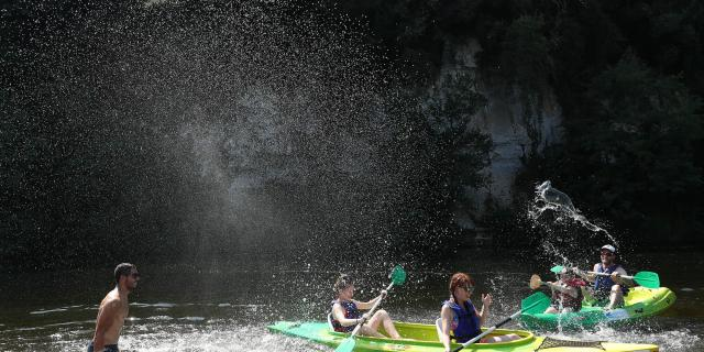 Randonnée en canoës