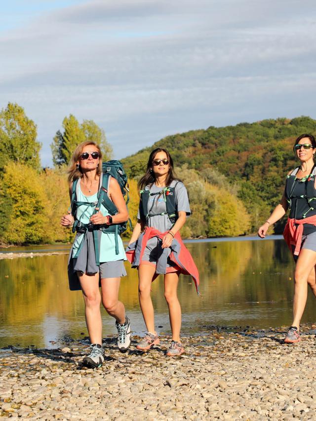 Rando sur les bords de la Dordogne