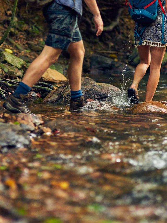 Marche en eau vive en Périgord