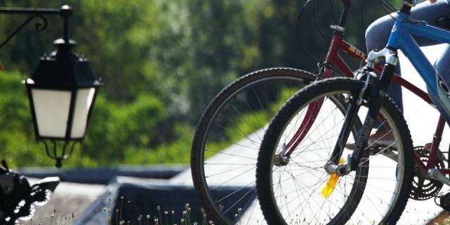 Randonnée à vélo voie verte