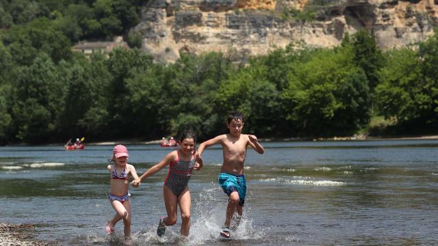 Baignade Dordogne