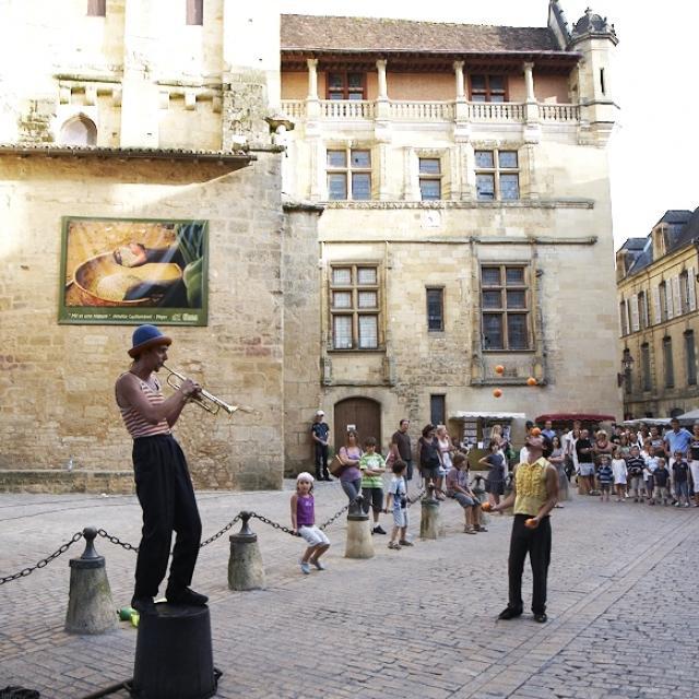 Artiste de rue - Sarlat