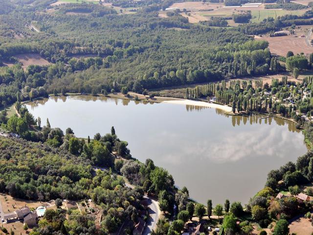 Plan Eau Base Loisirs Perigord Quercy