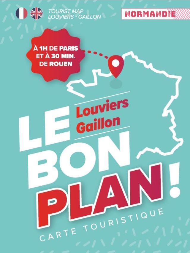 Carte Touristique Seine Eure