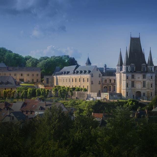 Vue du château de Gaillon