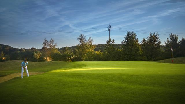 Green du golf de Gaillon