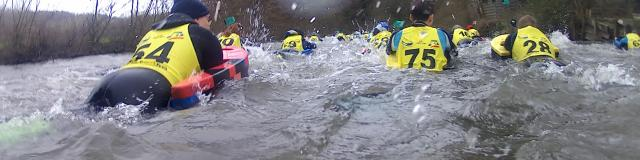 Nage en eaux vives