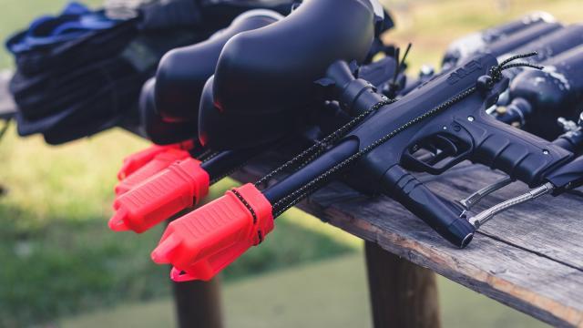 Armes de paintball