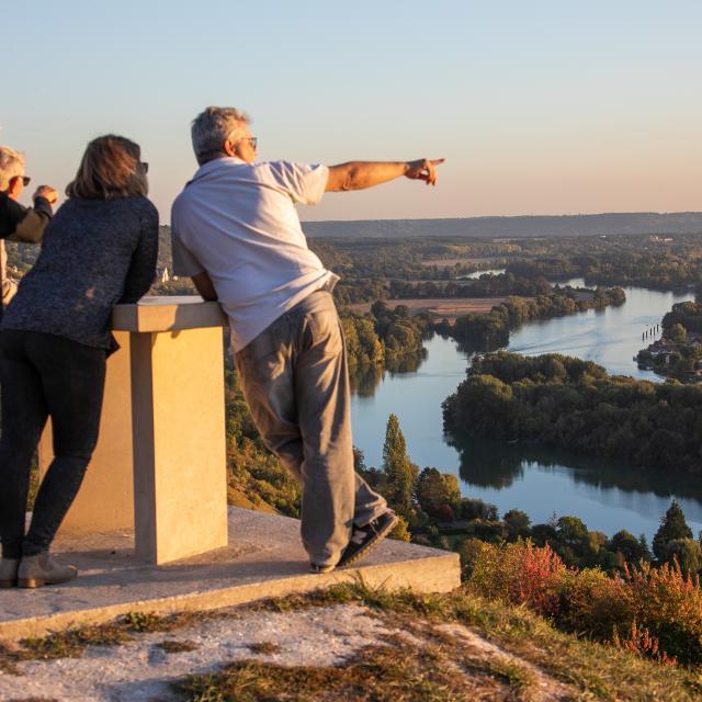 Des points de vue à partager sur la vallée de la Seine en Normandie
