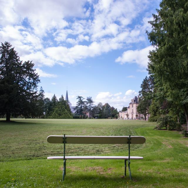 Parc du château d'Acquigny
