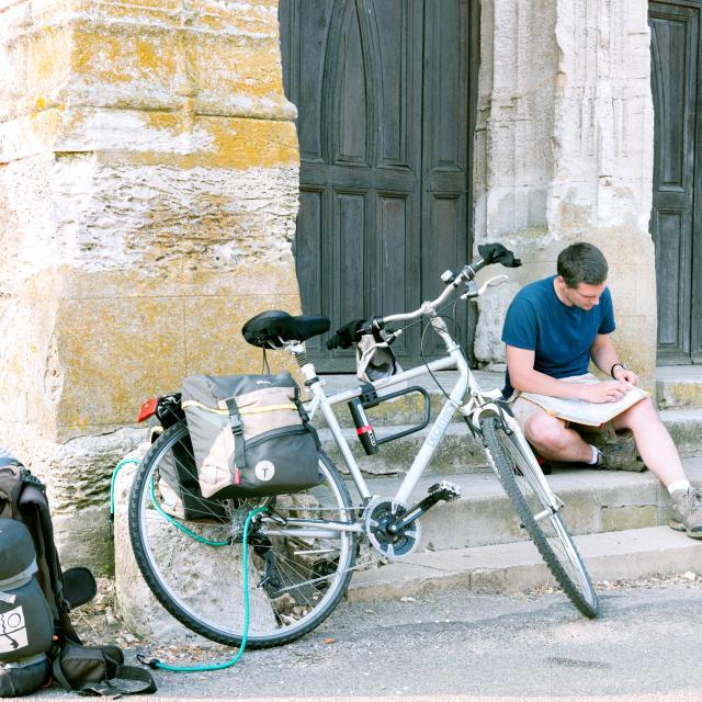 Tourisme à vélo au Mesnil-Jourdain