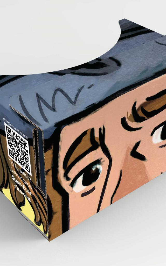Cardboard de Pont-de-l'Arche Médiévale