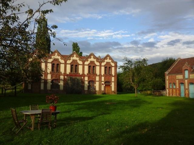 La ferme de l'église à Amfreville-sur-Iton