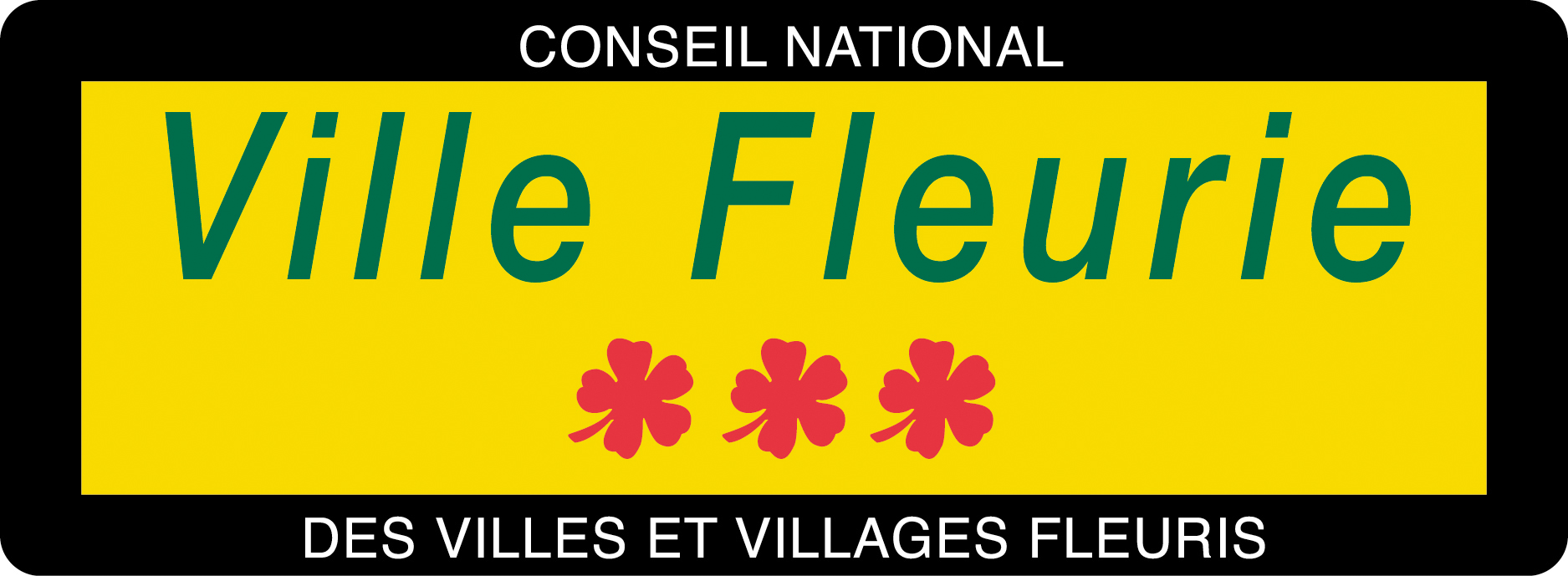 Panneau Ville Fleurie