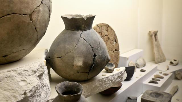 Représentation de Vases < salle d'archéologie < Musée Saint Léger < Soissons