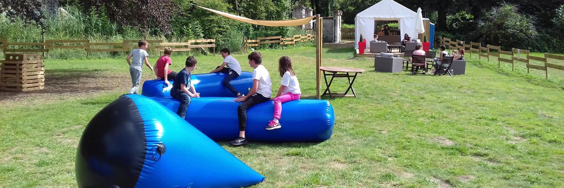 structures gonflables < Le Parc de Coupaville < Soissons