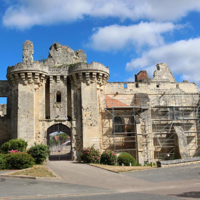Château De Berzy Le Sec Redimentionnée ©e