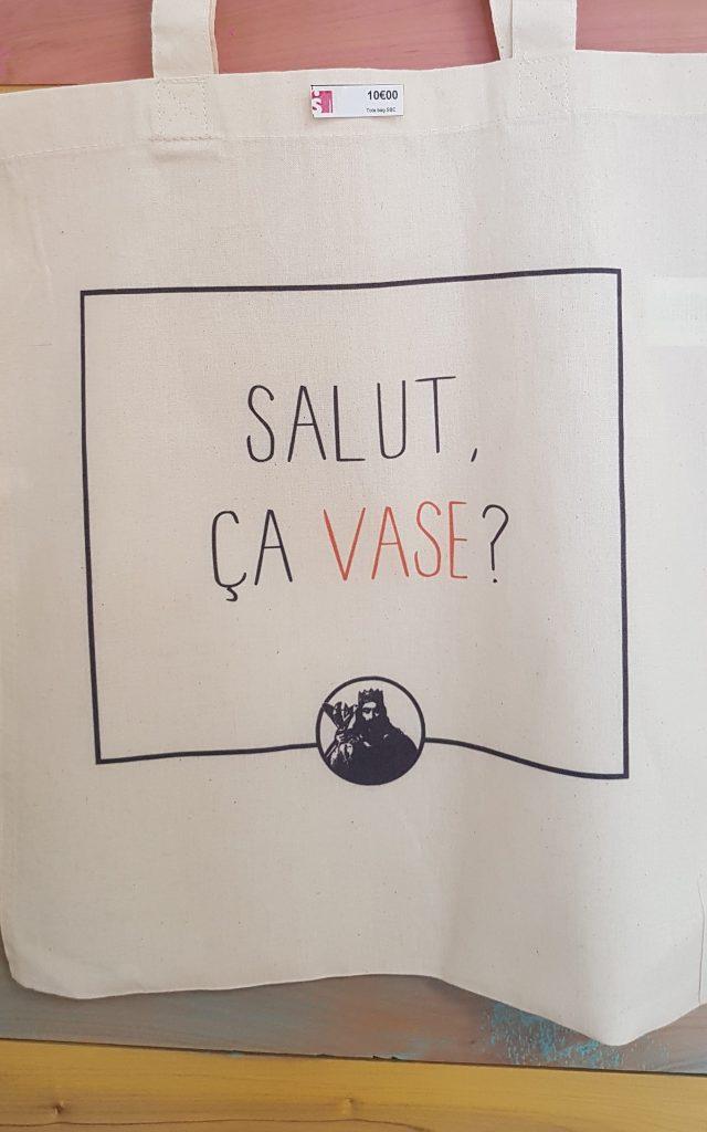Tote bag Salut vase < Soissons
