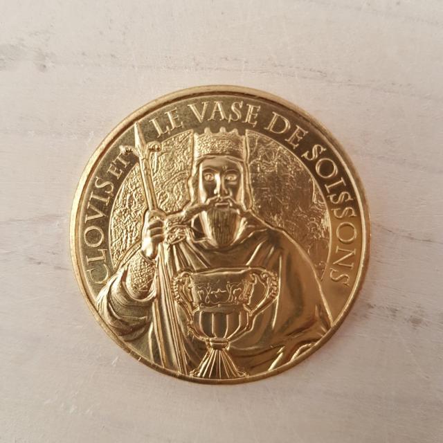 Pièce de la Monnaie de Paris < Clovis et le vase < Soissons