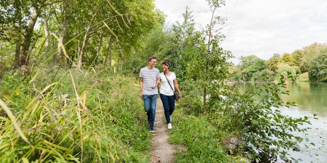 Balade en amoureux sur les berges de l'Aisne < Soissons