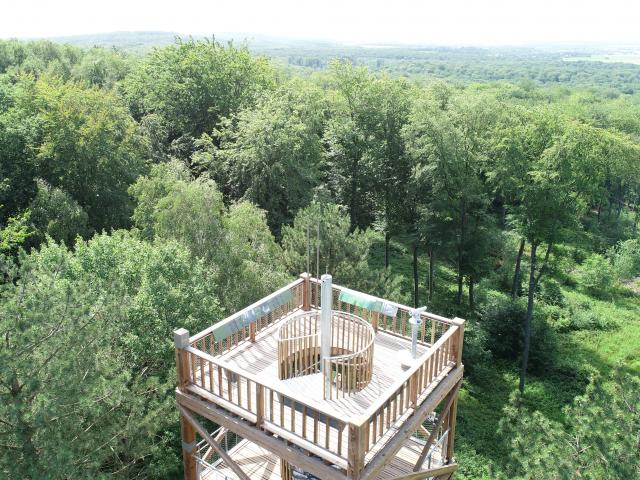 La tour observatoir Mangin < forêt de Retz