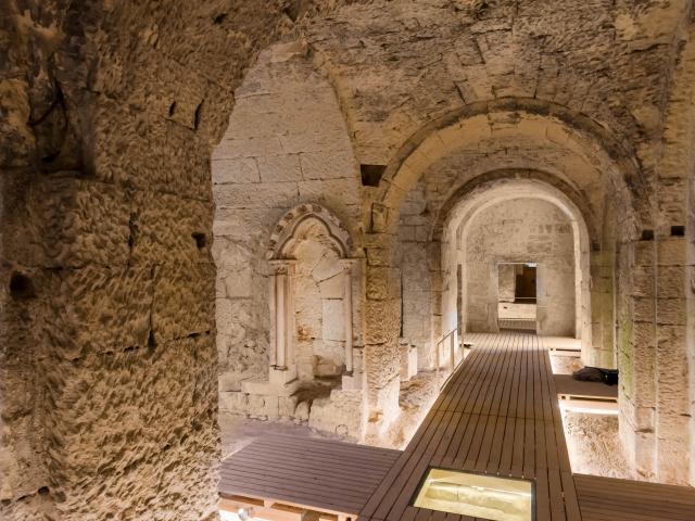 Crypte Saint-Médard < Soissons