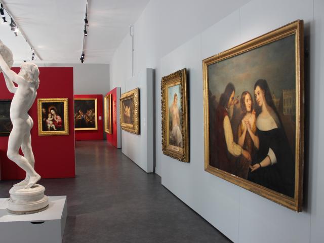 Salle des Beaux Arts < Musée Saint-Léger < Soissons