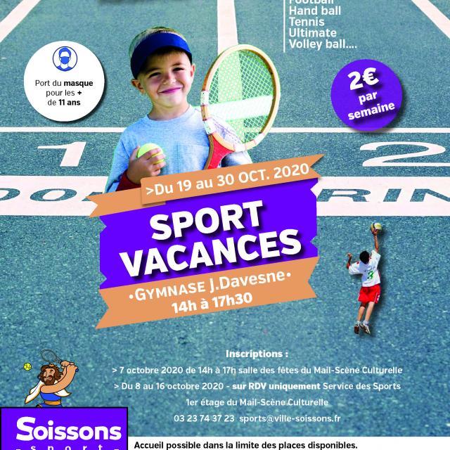 Sport Vacances Octobre 2020 < Soissons