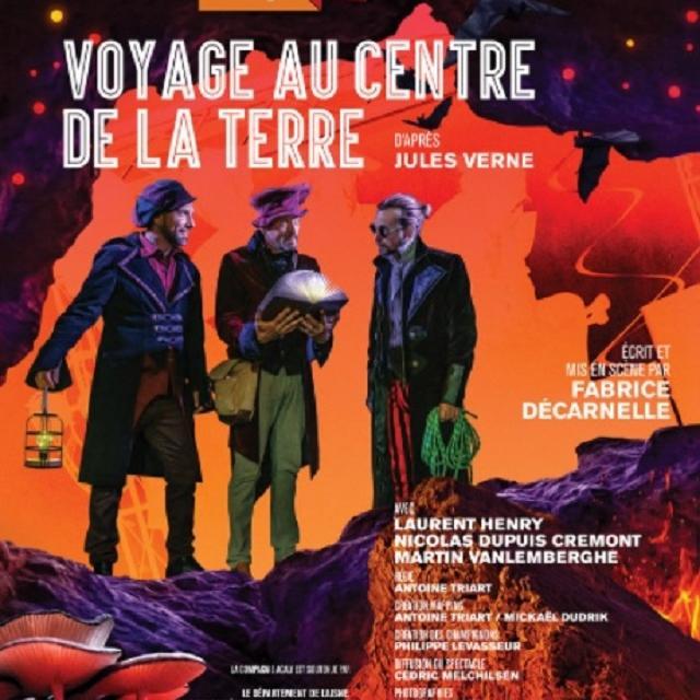Voyage au centre de La Terre < théâtre St-Médard < Soissons