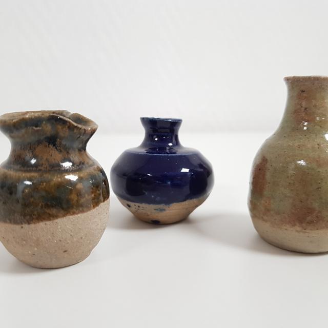Vase en céramique de l'atelier la Tourelle < Ressons-le-Long