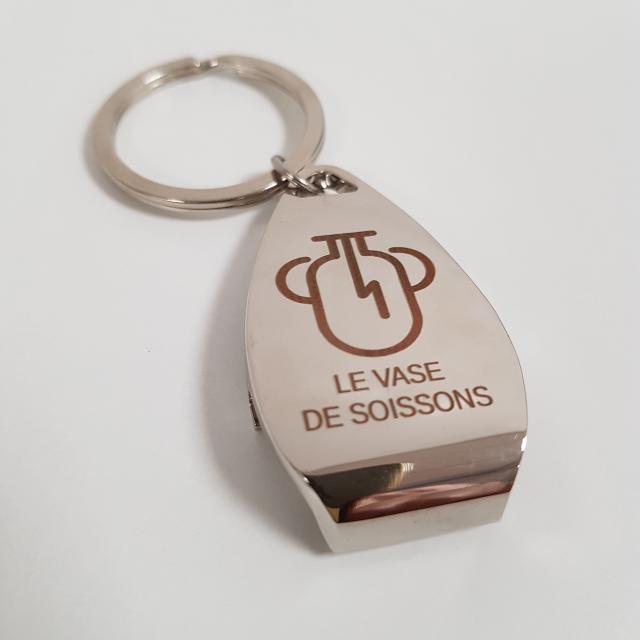 Porte-clé décapsuleur < Soissons