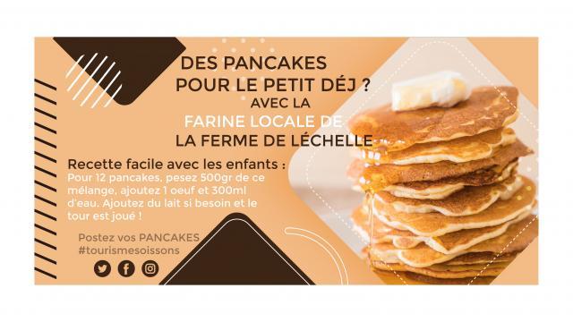 Recette de pancakes < Soissons