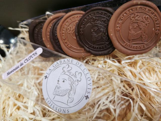 La monnaie de Clovis en chocolat < Cabane de Clovis < Soissons