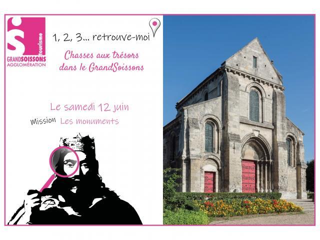 1,2,3 Retrouve Moi Les Monuments < Soissons
