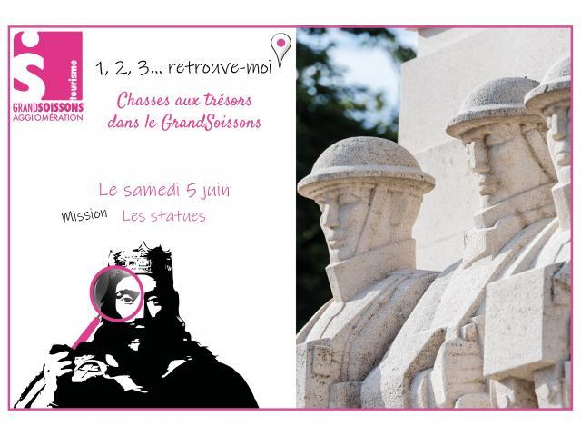 1,2,3 Retrouve Moi Les Statues < Soissons